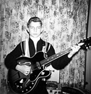 Christmas Eve 1964 with my new Harmony Guitar