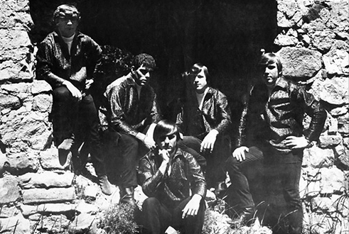 """Misery Sons"" – May 1967. I'm pictured upper left."