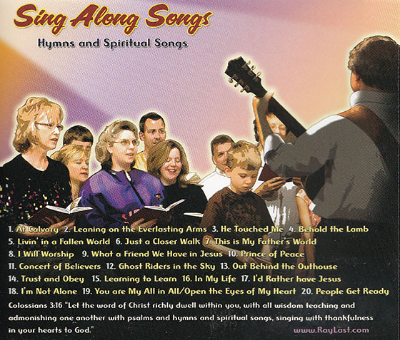 ra last sing alon songs tray