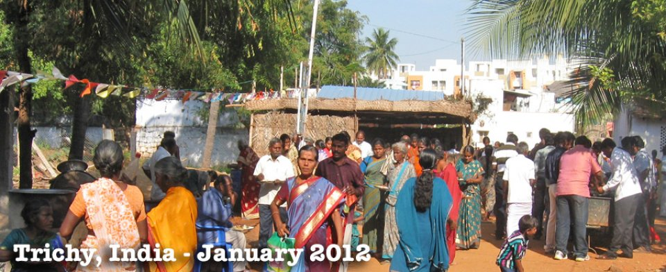 January 2012, Trichy, India