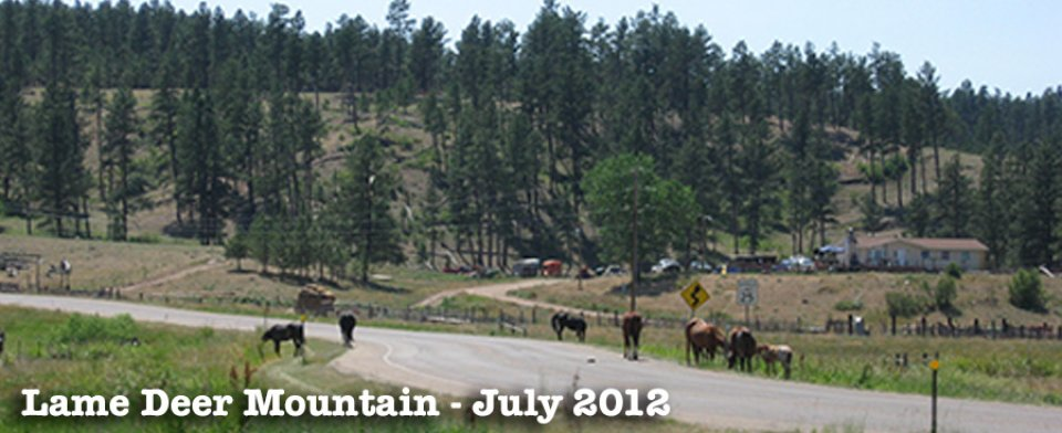 Lame Deer Mt. – July 2012